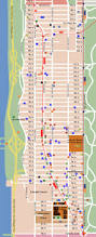 Central Park New York Map by City Of New York New York Map Upper West Side Map