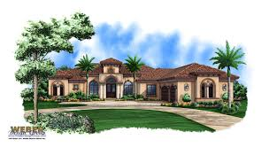 Find A Floor Plan Tuscan Style One Story Homes Print Elevation View Larger Image