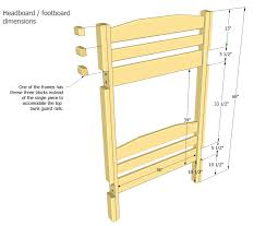 Plans For Building Bunk Beds by Picture Plans To Build Bunk Beds