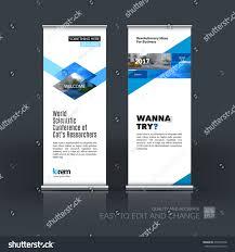 Website Design Ideas For Business Vector Set Modern Roll Banner Stand Stock Vector 478769458