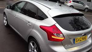 Ford Focus Colours Ford Focus Titanium 5dr 2 0 Tdci Moondust Silver 2012 For Sale At