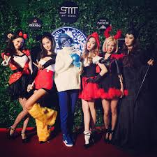 smtown halloween party hype allkpop forums