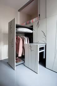 micro apartment design with young single woman interior theme