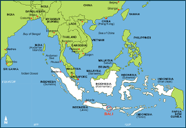 Bangkok Location In World Map by The Fearless Travelers In Bali