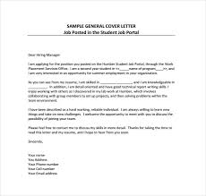Examples Of Resume Cover Letters Generic Examples by Simple Cover Letter Templates 35 Free Sample Example Format