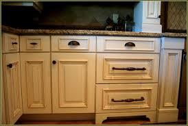 Square Cabinet Knobs Emtek Brass Geometric Square Cabinet Knob - Kitchen cabinets with knobs
