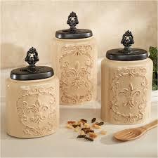 Pottery Canisters Kitchen 94 Kitchen Canister Sets Ceramic Kovot Ceramic 3 Piece