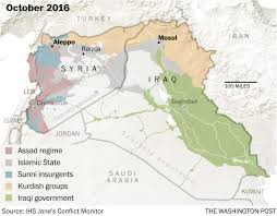 Iraq Syria Map by The History Of Mosul In Five Maps The Washington Post