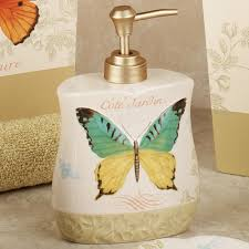 butterfly bliss bath accessories butterfly bathroom accessories tsc