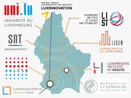 Luxembourg Map Research With Impact Fnr Highlights Fnr Luxembourg National
