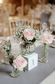 Silver Centerpieces For Table Best 25 Blush Wedding Centerpieces Ideas On Pinterest Wedding