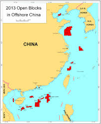 Fuzhou China Map by Notification Of Blocks In Offshore China Available For Foreign
