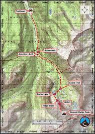 Lake Powell Map Hiking Ostler Lake And Peak Uinta Mountains Road Trip Ryan