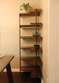 Build Wooden Shelf Unit by Best 25 Diy Corner Shelf Ideas On Pinterest Corner Shelf