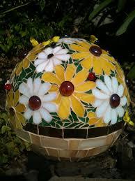 Gazing Ball Fountain Didn U0027t Used To Like These U0027gazing Balls U0027 In A Garden Now I Want