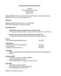 free teacher resume templates download chronological resume template free download free resume example we found 70 images in chronological resume template free download gallery