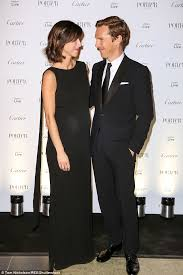 Smitten  Benedict Cumberbatch looked lovingly at his stunning wife Sophie Hunter as they attended Porter