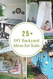 Backyards For Kids by Diy Backyard Ideas For Kids The Idea Room