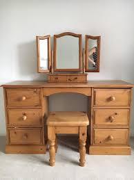 Pine Drawers Pine Dressing Table Mirror And Stool In Taverham Norfolk Gumtree