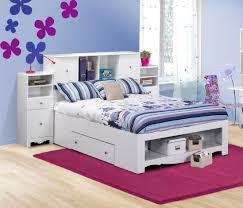 nexera pixel full low bookcase storage bed n 316303set1