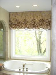 balloon valance window treatments decorating your windows with
