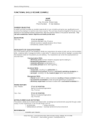 Examples Of Professional Summary For Resume by Download Professional Skills Resume Haadyaooverbayresort Com