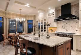 Elegant Kitchen Designs by Giallo Ornamental Granite For Warm U0026 Elegant Kitchen Design