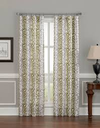 108 Inch Long Blackout Curtains by Damask Scroll Stripe Curtain Panel Curtainworks Com