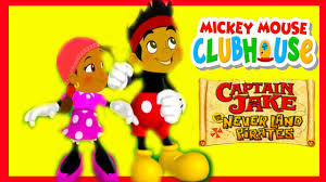 captain jake and the never land pirates turns to mickey mouse