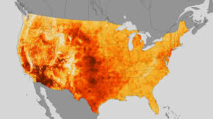 Weather Map Ohio Noaa Weather Map Shows July Heat Wave Environmental Monitor