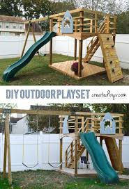 Backyards For Kids by Best 25 Outdoor Playset Ideas On Pinterest Kids Outdoor