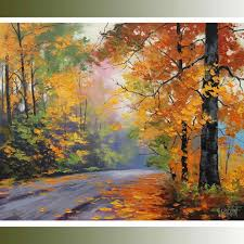 Fall Landscaping Ideas by Landscape Watercolor Paintings To Paint Landscape