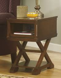 kitchen room 2017 chairside table x legs ashley furniture end
