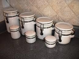 tuscan kitchen canister sets vintage kitchen canister sets ideas image of kitchen canister set ceramic