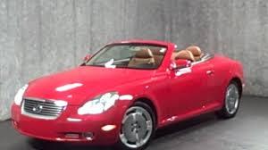 mcgrath lexus of westmont used cars 2002 lexus sc430 hardtop convertible for sale