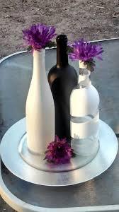 best 25 bottle centerpieces ideas on pinterest wine bottle