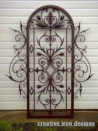 wrought iron decorative wall panels wall art designs wrought iron