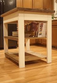 How To Build A Custom Kitchen Island Build Your Own Butcher Block Kitchen Island