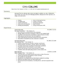 Skill Set Resume Examples by Best Film Crew Resume Example Livecareer