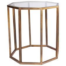 octagon large side table oka