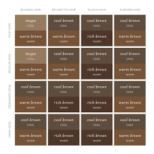 Best Hair Colors For Cool Skin Tones A Real Life Guide To Finding The Right Brow Color For You