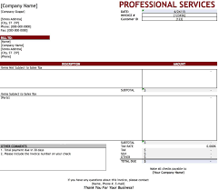 Template For Invoice Word Awesome Service Invoice Templates Pictures Office Worker Resume