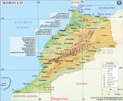 Map Of France And Spain by Map Of Morocco Morocco Map