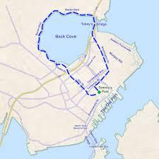 Map Of Portland Maine by Run Washington Avenue To Back Cove