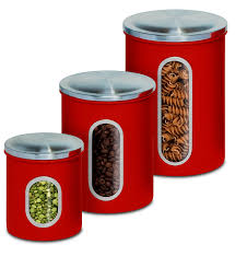 amazon com honey can do kch 03011 3 piece metal nested canister