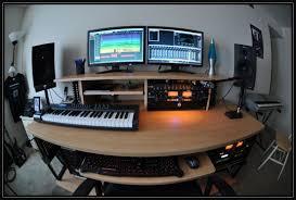 Custom Studio Desks by Ikea Music Studio Desk Decorative Desk Decoration