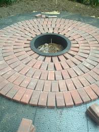 How To Make A Fire Pit In Backyard by Diy How To Create A Backyard Brick Patio Today Com