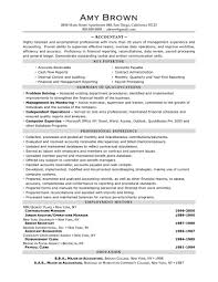 Resume Retail Template Sample Resume For Bookkeeper Accountant Resume For Your Job