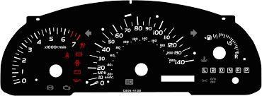 lexus v8 pajero conversion toyota avensis verso kmh to mph speedo meter clocks dials