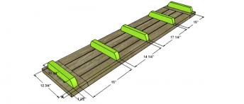 Building Plans For Picnic Table Bench by Free Diy Furniture Plans To Build A Potterybarn Inspired